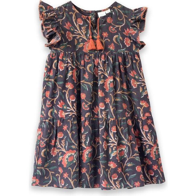 Sara Dress, Cinammon