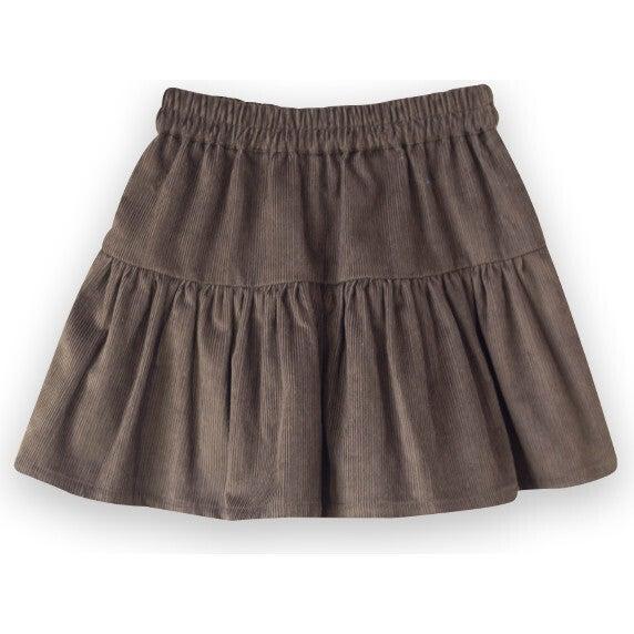 Tiered Skirt, Fir Green