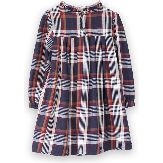 Myrtle Dress, Brown Plaid