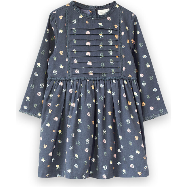 Lulu Dress, Dark Navy Floral