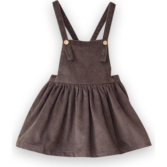 Pinafore Skirt, Fir Green