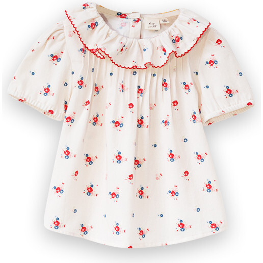 Emily Top, Pink Floral