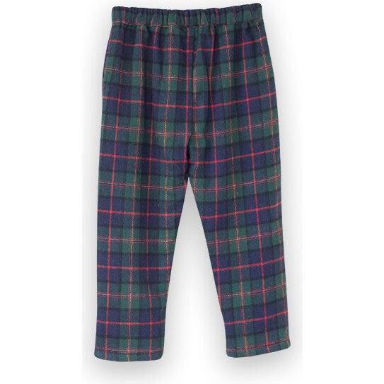 Baby Pants, Green Plaid