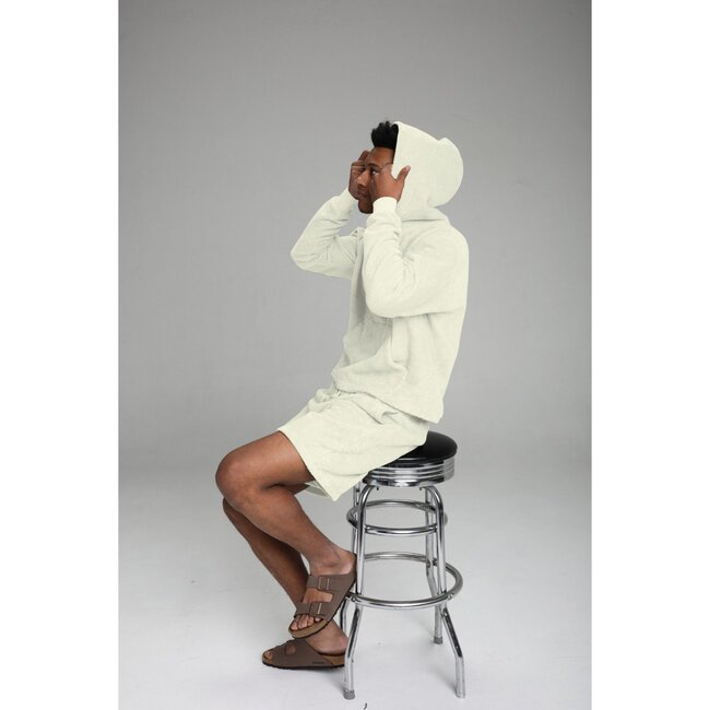 Adult Terry Towel Short, Soft Sage