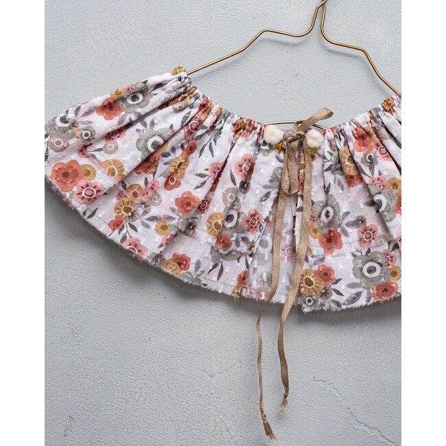 Bell Collar, Campanula Floral Prit