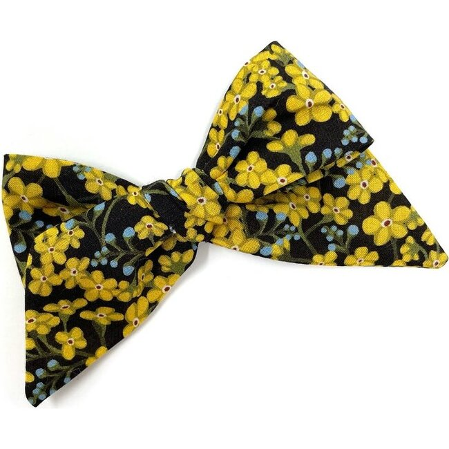 Baby Tied Bow Clip, Liberty Star Anise