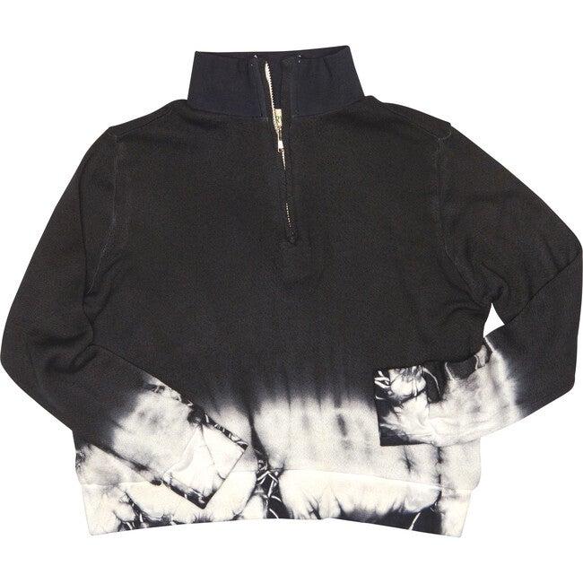 Tie Dye Town Pullover Sweatshirt, Stormy - Sweatshirts - 1