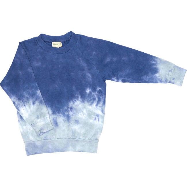 Tie Dye Mellow Raglan, Sea Salt