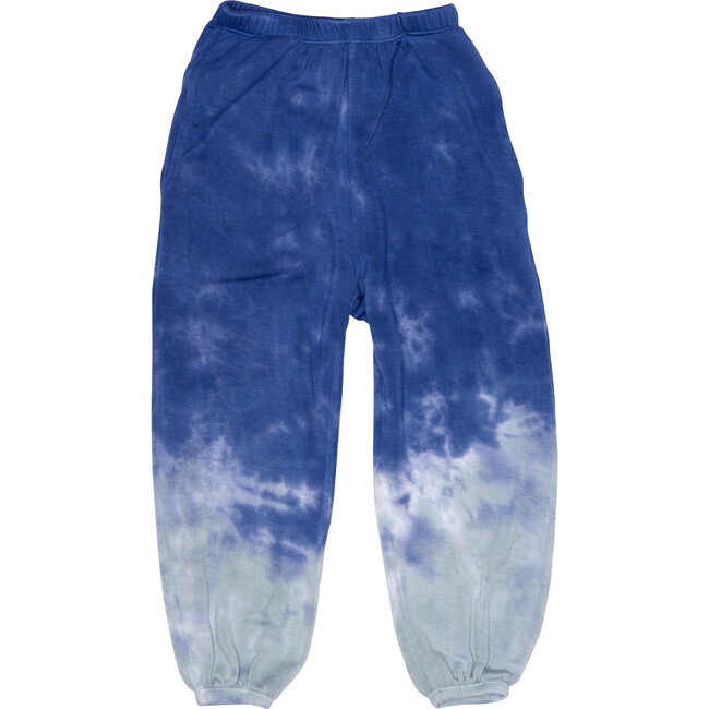 Tie Dye Gym Sweats, Sea Salt