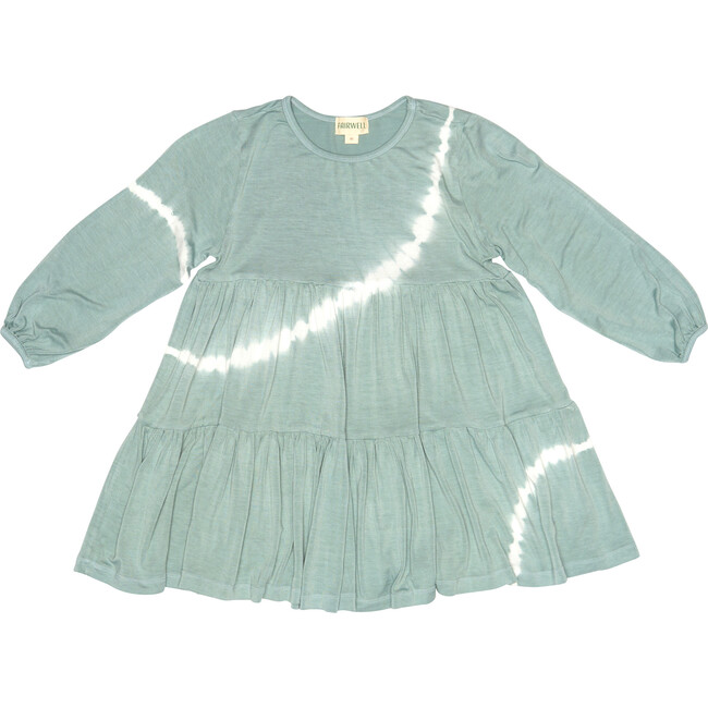 Tie Dye Field Dress, Sage