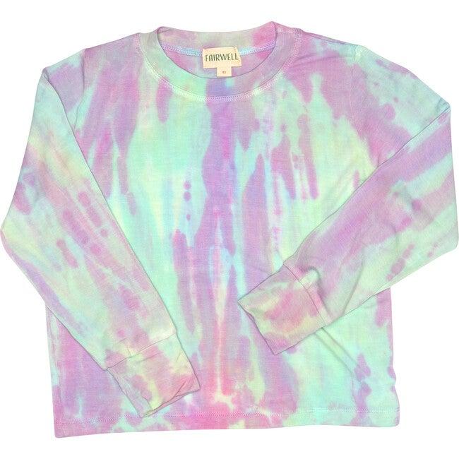 Rainbow Tie Dye Bamboo Top, Prism