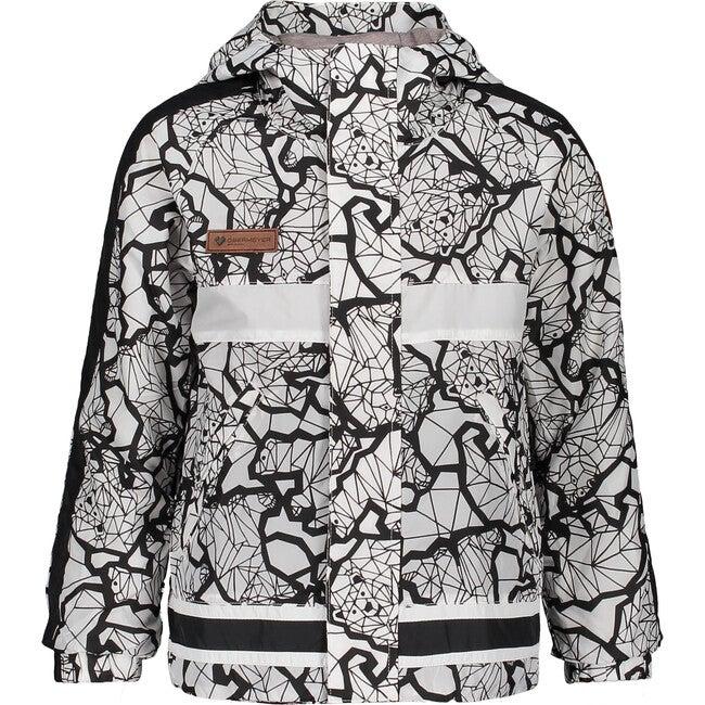 Frankie Shell Jacket, Kaleido Bear - Jackets - 1