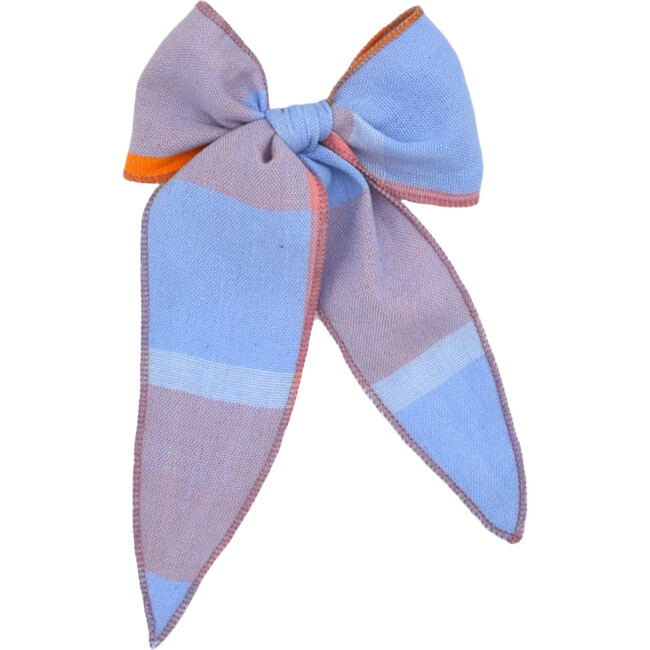 Folklore Large Bow, Shell Pink