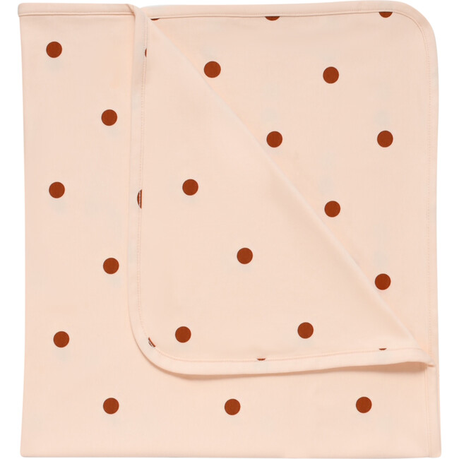 Sunkiss Dots Reversible Blanket, Pink