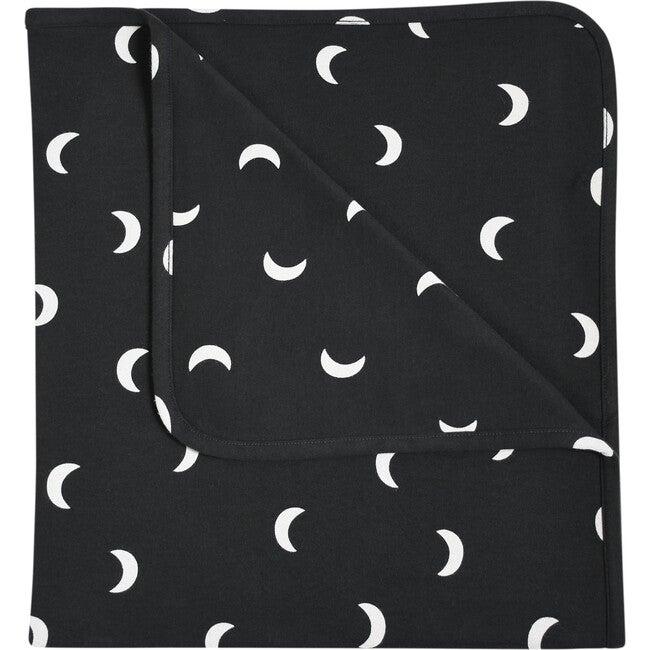 Midnight Reversible Blanket, Black - Blankets - 1
