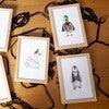 Set of 3 Fancy Animals Prints, Birds - Art - 2