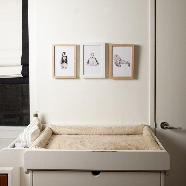 Set of 3 Fancy Animals Prints, Polar