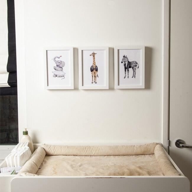 Set of 3 Fancy Animals Prints, Tutus & Tuxes