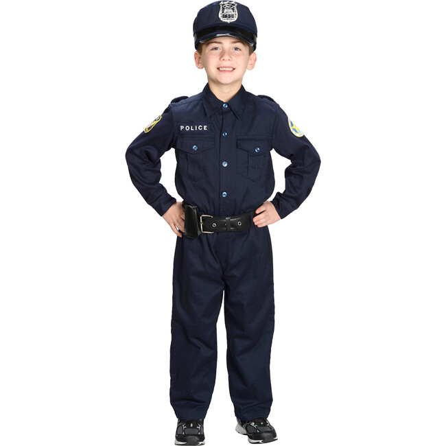 Jr. Police Officer Suit with Cap and Belt