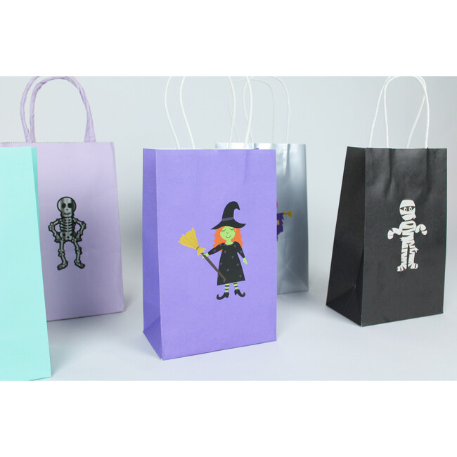 Trick or Treat Gift Bag Stickers