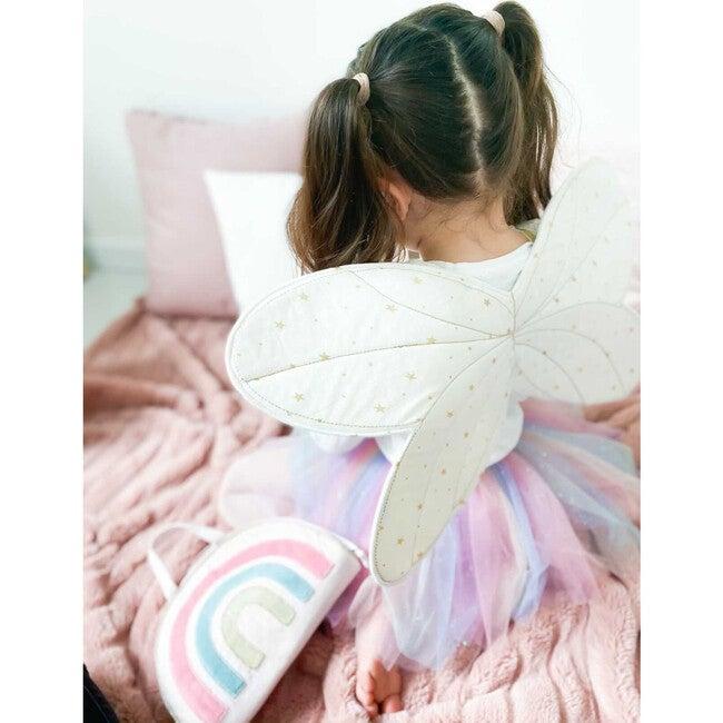 Fairy Wings & Star Magic Wand Dress Up Set
