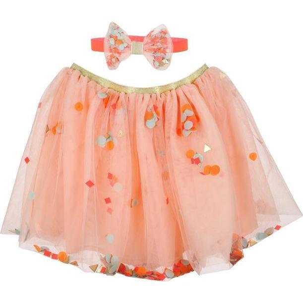 Sequin Tutu Set, Pink