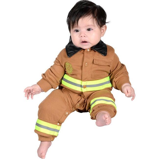 Jr. Firefighter Romper, Tan