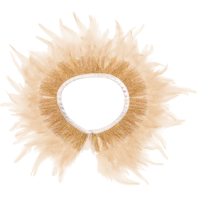 Peach Feather Capelet - Costumes - 1