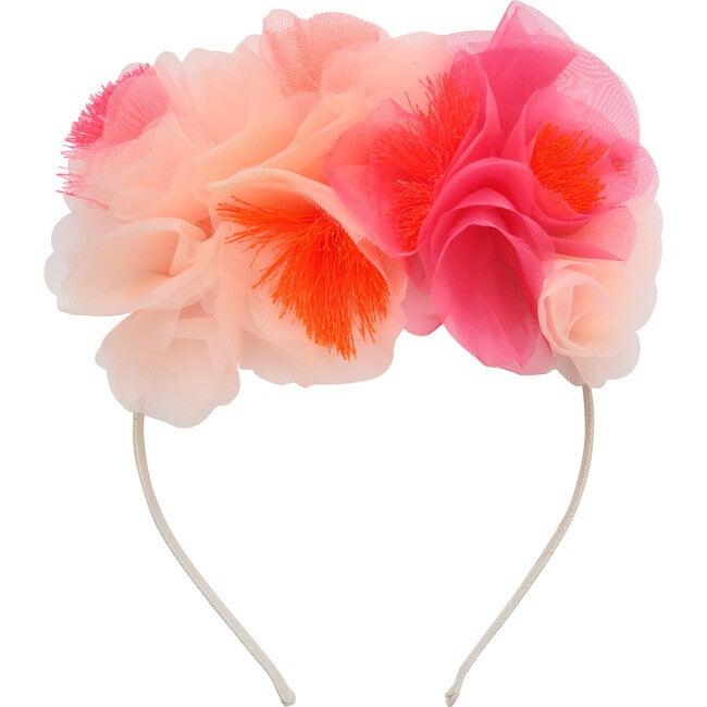 Pink Floral Headband - Costumes - 1