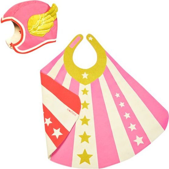 Flying Super Hero Set, Pink - Costumes - 1