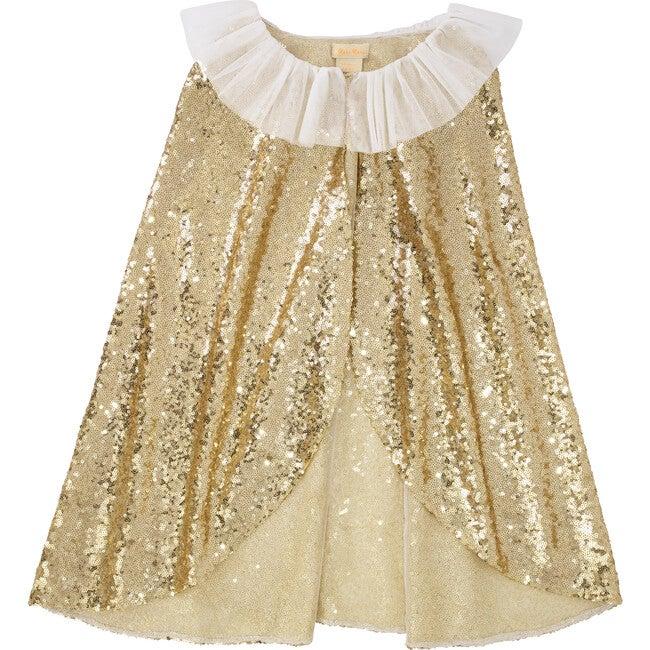 Gold Sparkle Cape Dress Up