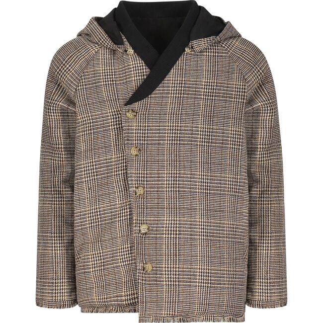 The Urban Myth Coat, Wool Brown Plaid
