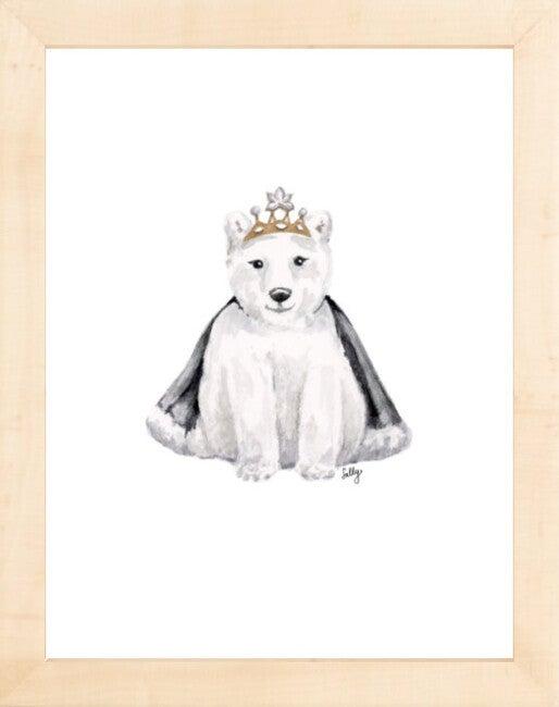 Fancy Animals Print, Polar Bear