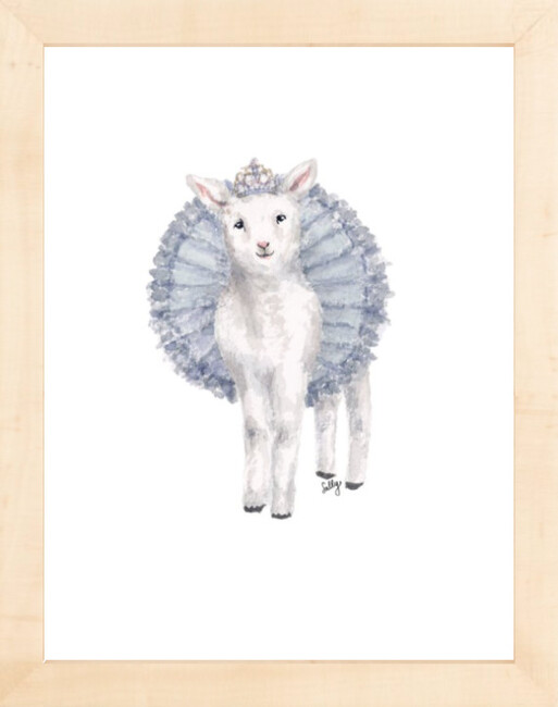 Fancy Animals Print, Sheep