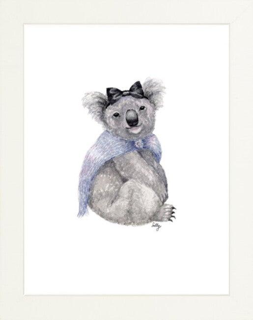 Fancy Animals Print, Koala
