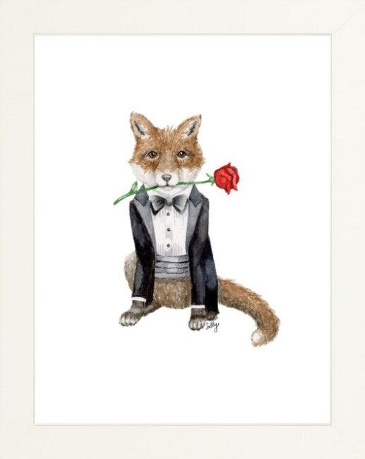 Fancy Animals Print, Fox