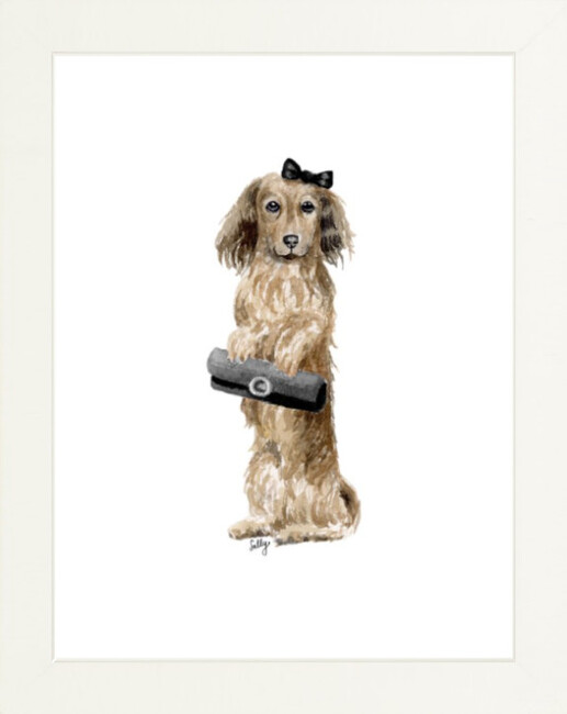 Fancy Animals Print, Dachshund
