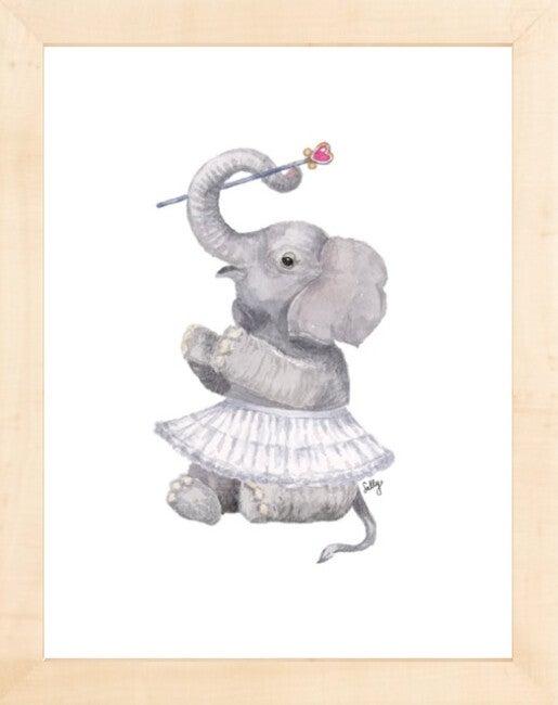 Fancy Animals Print, Elephant