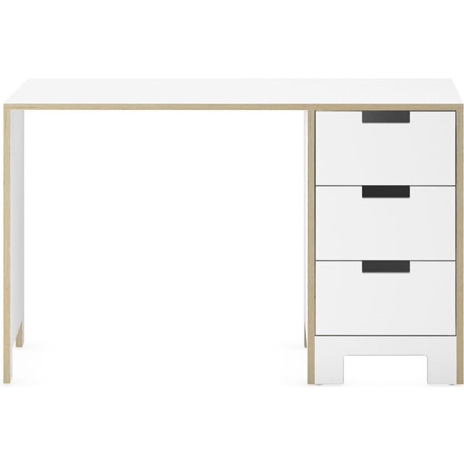 Juno Desk, White - Desks - 1