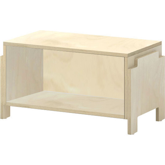 Juno Stacking Toy Cubby, Natural