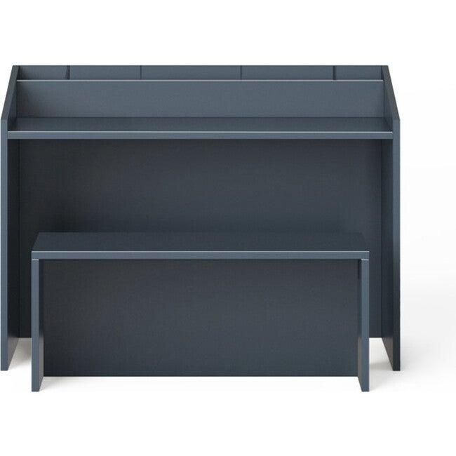 Indi Art Desk & Seat, Midnight - Desks - 1