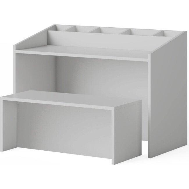 Indi Art Desk & Seat, Gray