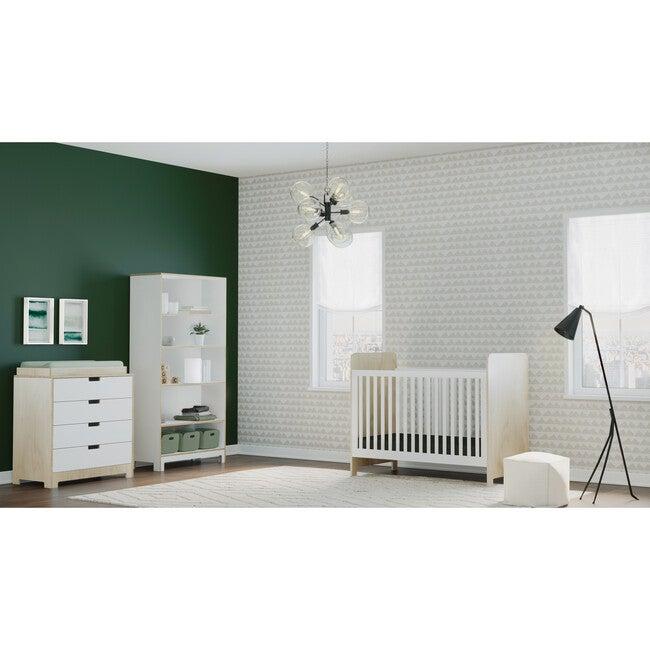 Juno Tall Bookcase, White