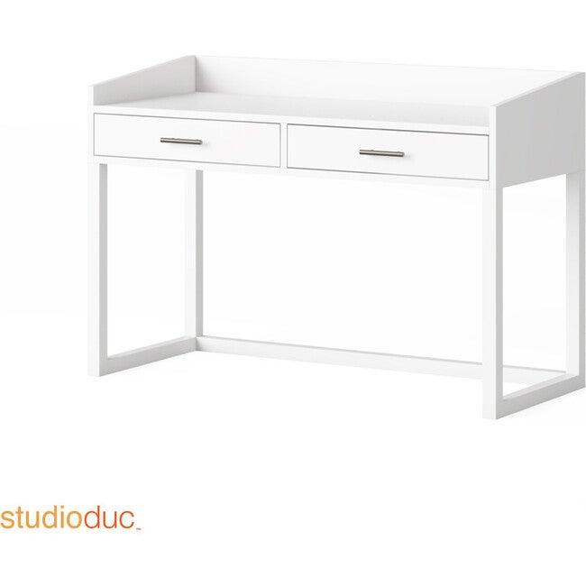 Indi Doublewide Desk, White