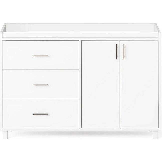 Indi Doublewide Changer Dresser, White