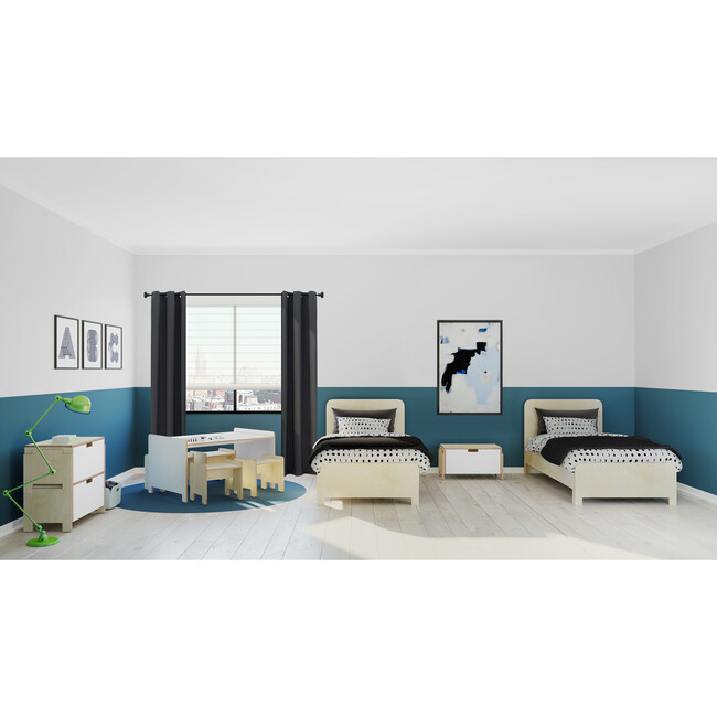 Juno Bed, Natural