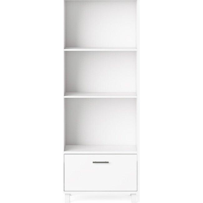 Indi Tall Bookcase, White