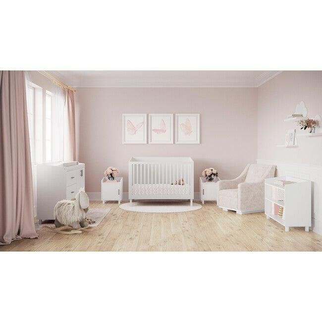 Indi Crib, White