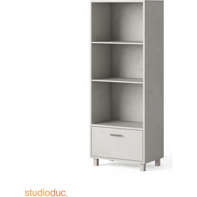 Indi Tall Bookcase, Gray
