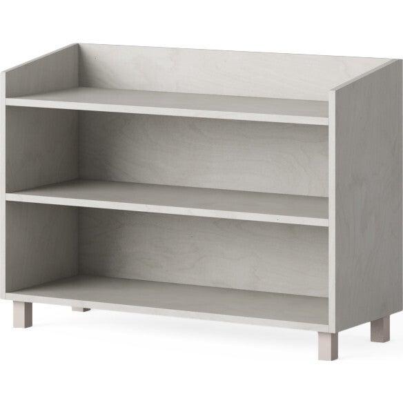 Indi Short Bookcase, Gray